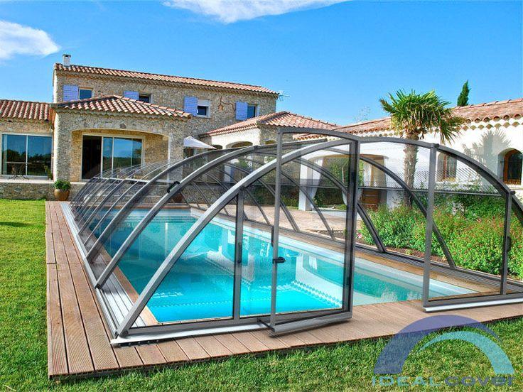 Павильон для бассейна (навес для бассейна) Klasik торговой марки Idealcover. - Албион Гроуп - крупнейший производитель бассейнов и павильонов в Европе.