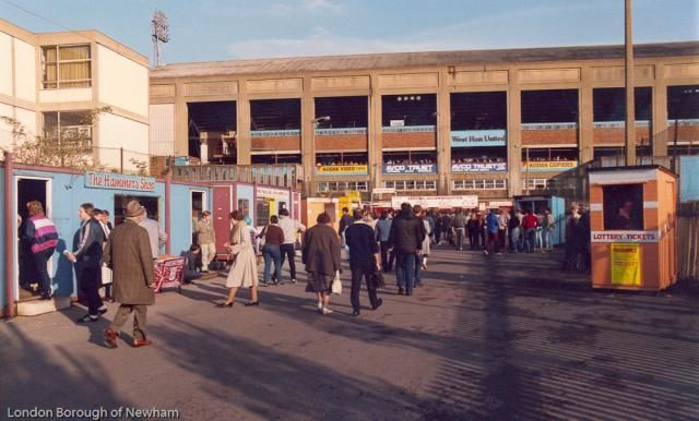 West Ham United FC. 15 Nov 1984