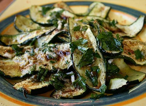 Marinated Zucchini, love the idea of putting these on an antipasto platter.