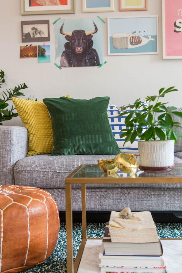 DIY Embossed Velvet Pillow | by Dnilva