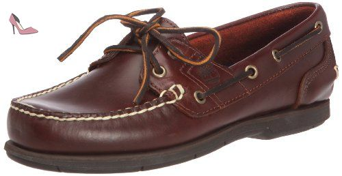Timberland Icon 2-Eye, Mocassins homme - Marron foncé (Rootbeer Smooth), 46 EU (12 US) - Chaussures timberland (*Partner-Link)