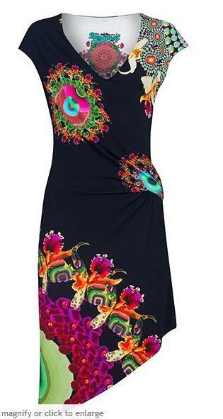 Desigual Mildred Wrap Dress