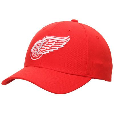 Detroit Red Wings Reebok Basic Structured Adjustable Hat - Red