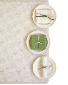 Napkin-Ring Knots - Martha Stewart Weddings Inspiration