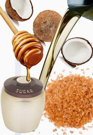 scrub per il corpo a base di zucchero e olio essenziale