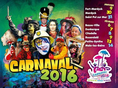 Le Carnaval de Dunkerque, édition 2016...