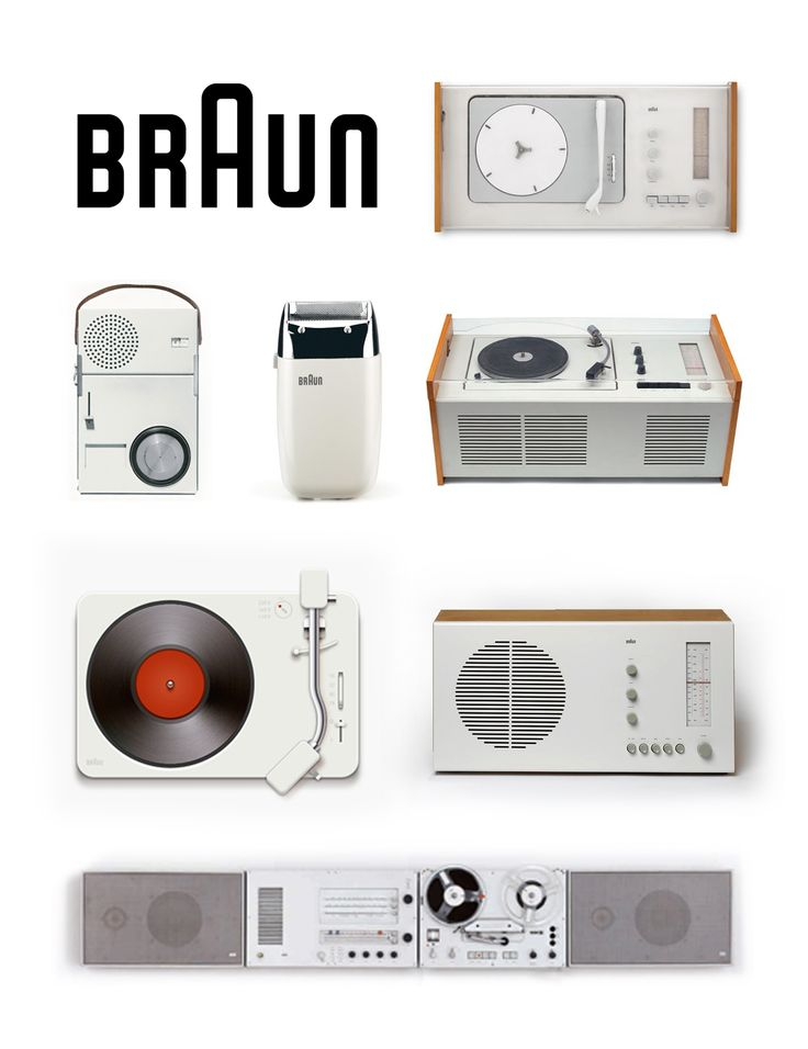 Dieter Rams - some of his Braun masterpieces!