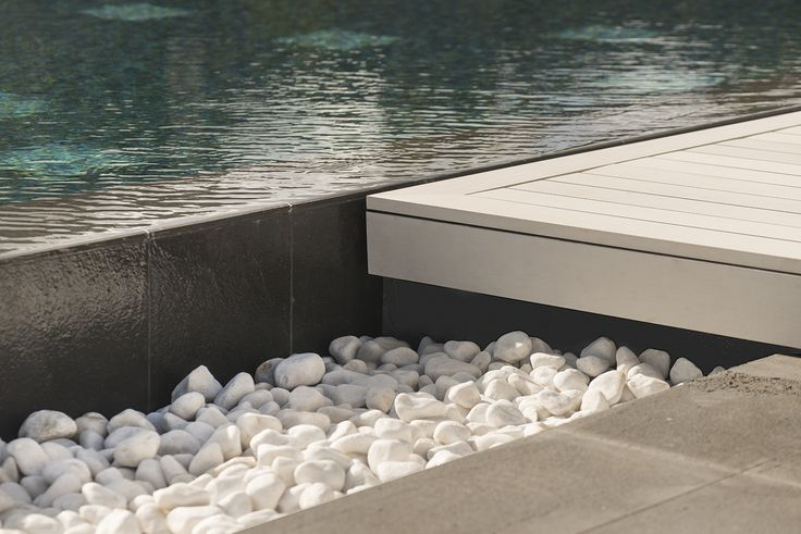 Esthec® Terrace pooldeck Architect: Carlos Morales Colour: Essence #pool #terrace #sustainable #deck