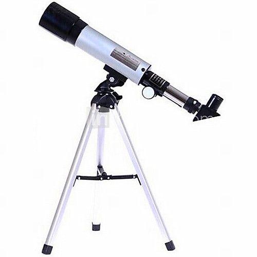 Phoenix® 48x 50mm mm Teleskoper 360mm.f/7 Astronomisk teleskop Sølv 2016 - kr.154