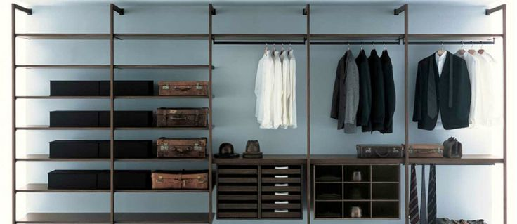 FFEATURED 10 INDUSTRIAL STYLE CLOSET DESIGNS THAT YOU'LL LOVE