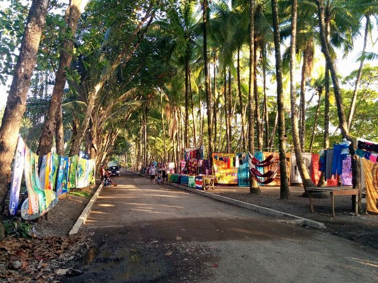 playa dominical in costa rica town
