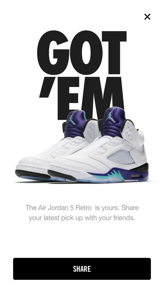 cheap for discount f1058 47999 Nike Air Jordan 5 V OG Retro Grape Fresh Prince Size 13  fashion  clothing   shoes  accessories  mensshoes  athleticshoes  ad (ebay link)