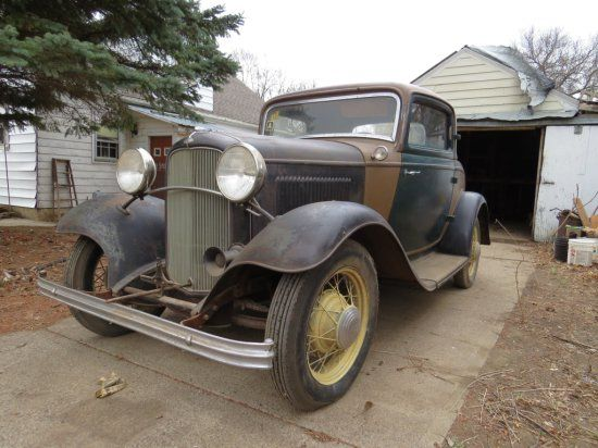Rare 1932 Ford 3 Window Coupe Auctions Online | Proxibid