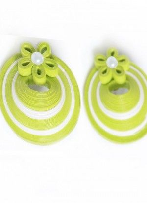 quilled earrings studs - Google Search