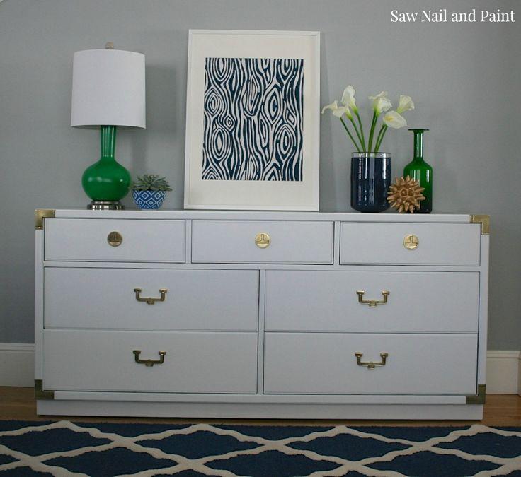 Thomasville Dresser In Gallery White