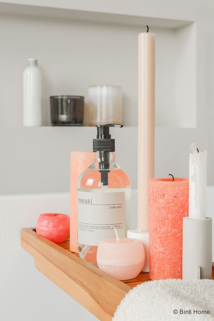 Bathroom Peach Accessories