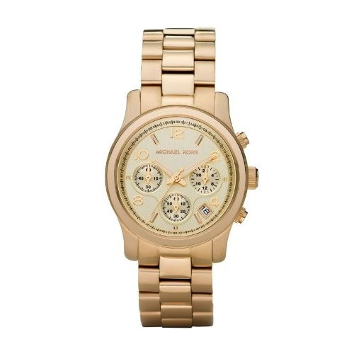 Amazon.com: Michael Kors Watches Gold Chronograph Runway (Gold): Michael Kors: Watches