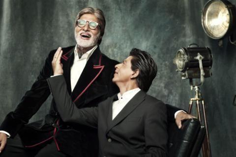 SRK & Amitabh...
