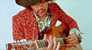 Jimi Hendrix Jams On An Acoustic 12-String Guitar, And You Won't Be Able To Look Away