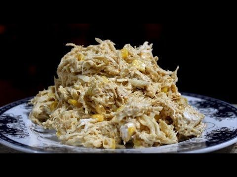 ქათმის სალათა Qatmis Salata მოხრაკული Tv