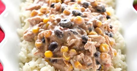 Easy Crockpot Fiesta Chicken