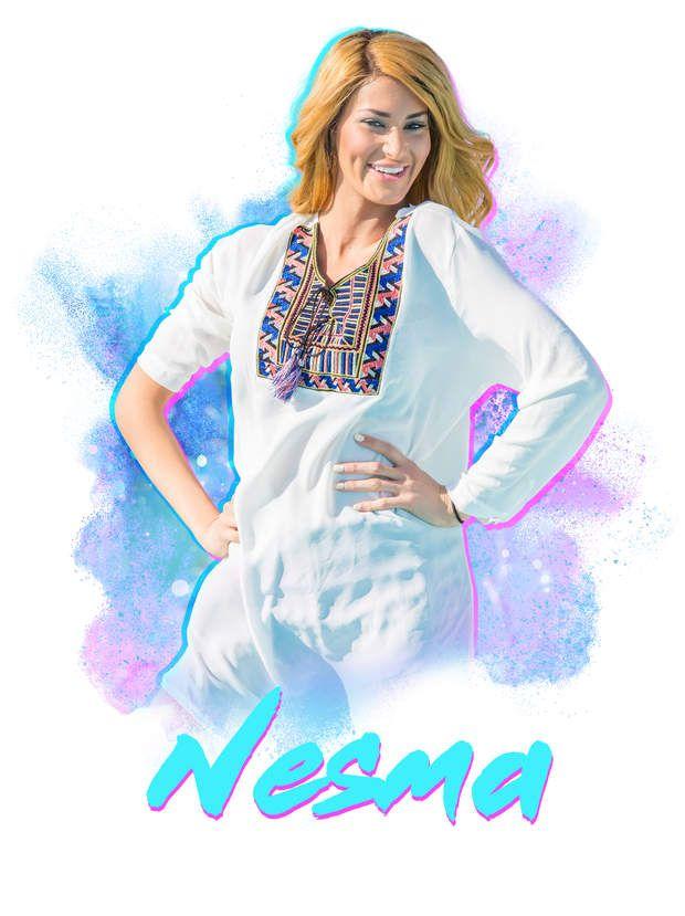 Nesma espère également devenir mannequin