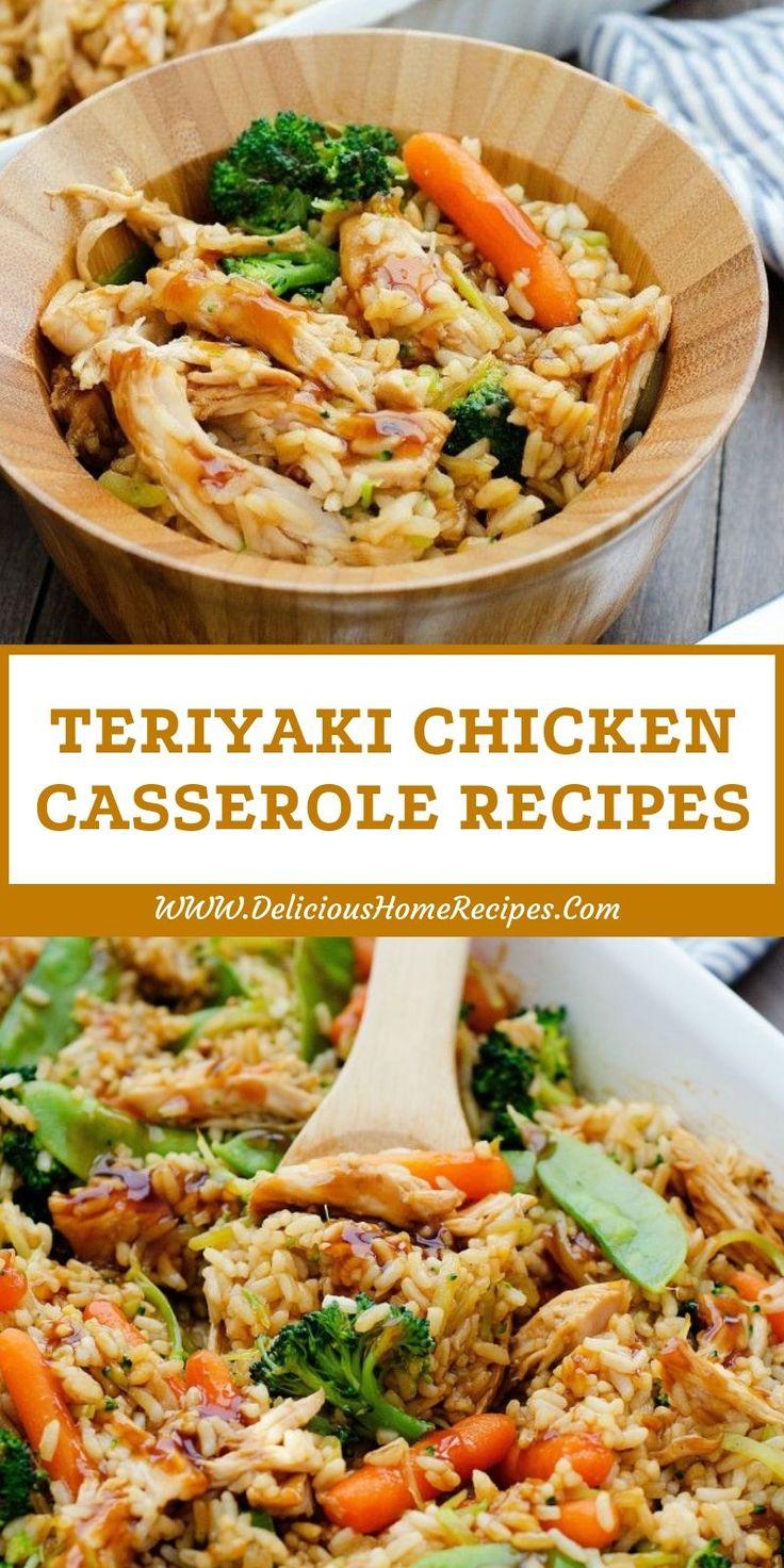 Teriyaki Chicken Casserole Recipes Recetas de comida china-8011