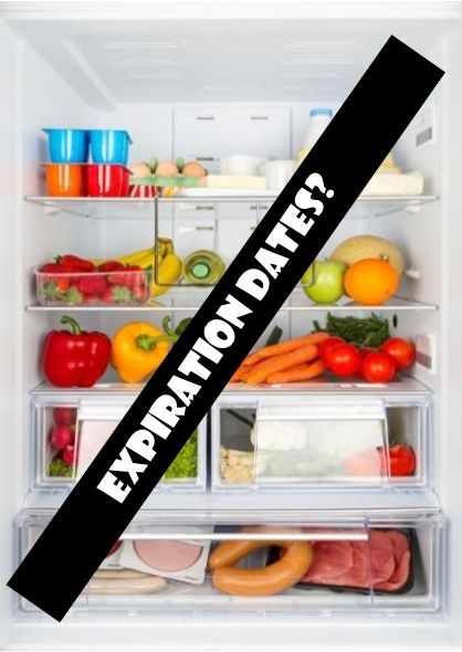 Want to know whether to toss your expired foods?  Read more at www.insidekarenskitchen.com Food Expiration Dates:  Eat it or Leave it?
