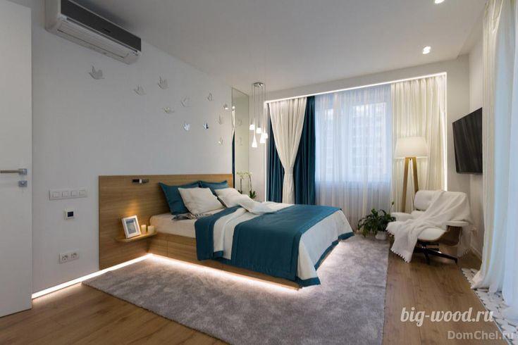 Кровать, шпон ясеня