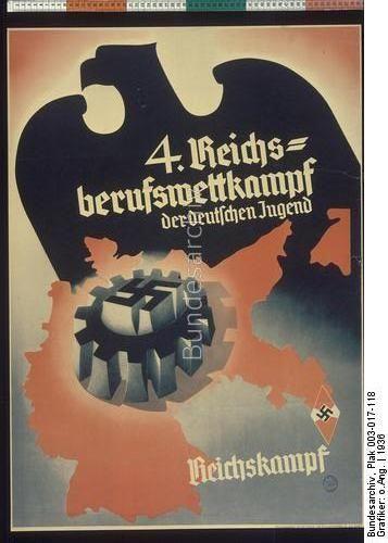 4. Reichsberufswettkampf der deutschen Jugend Dating:1936