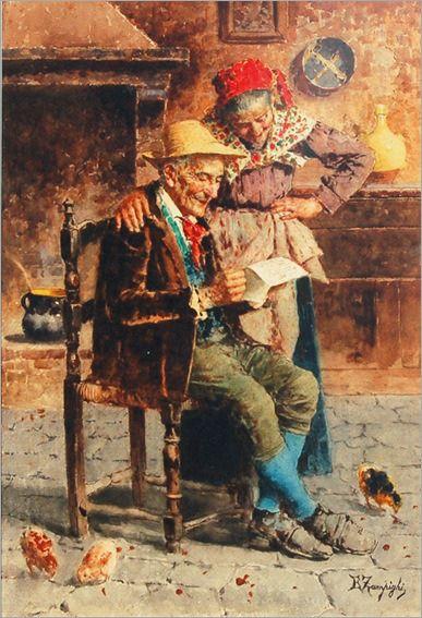 l couple di Eugenio Zampighi