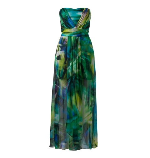 in love with this palm print maxi dress! it's gorgeous!