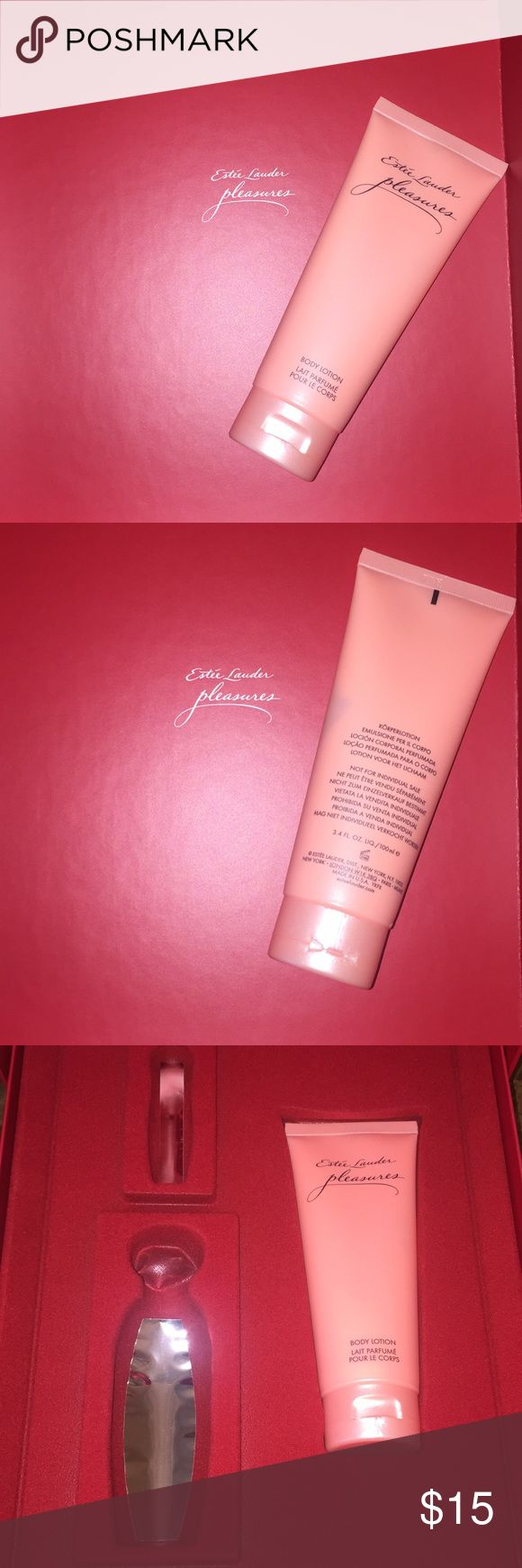 Estée Lauder Pleasures Body Lotion Brand new! I just use her fragrance! Added box pictures die proof of purchase in store Estee Lauder Makeup