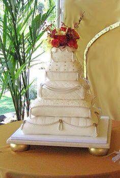 Princess/pillow cake