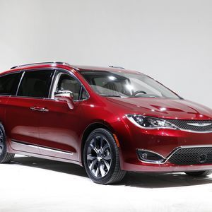 The Chrysler Pacifica is the lightest minivan on the market