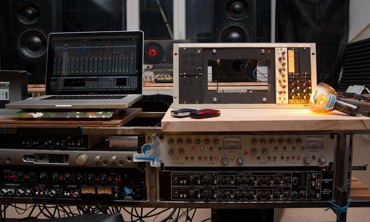 Machine Love Dadub's studio