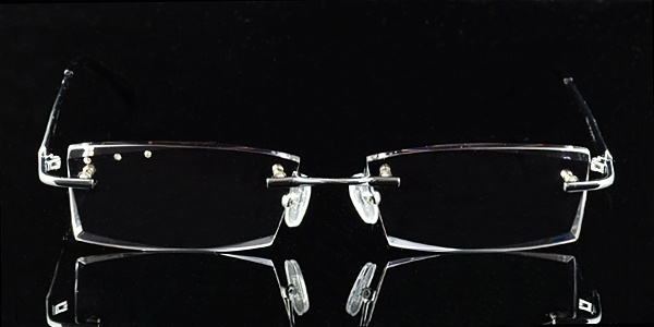 Rimless Glasses Polished Edges : 17 Best ideas about Mens Glasses Frames on Pinterest ...