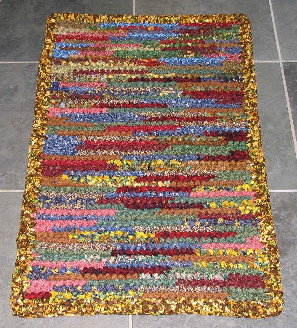 Youtube Rag Rug: 1000+ Images About Crochet Rug Ideas On Pinterest