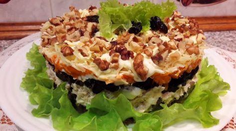 Очень вкусный салат к праздничному столу: любимый рецепт