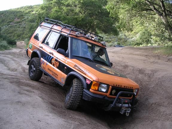 2000 Land Rover Discovery  used in the TReK competition in West Viginia in 2000.