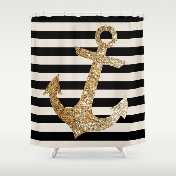 1000 Ideas About Anchor Shower Curtains On Pinterest Chevron Anchor Ancho