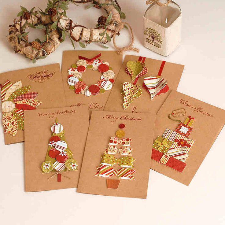 2016 Ирак и обещают точки зрения бизнеса ретро ручной работы наклейки Поздравительные открытки ручной работы Крафт-бумага рождественские открытки 1702-tmall.com Lynx