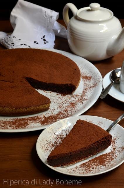 Italian Food - Torta al cioccolato senza farina
