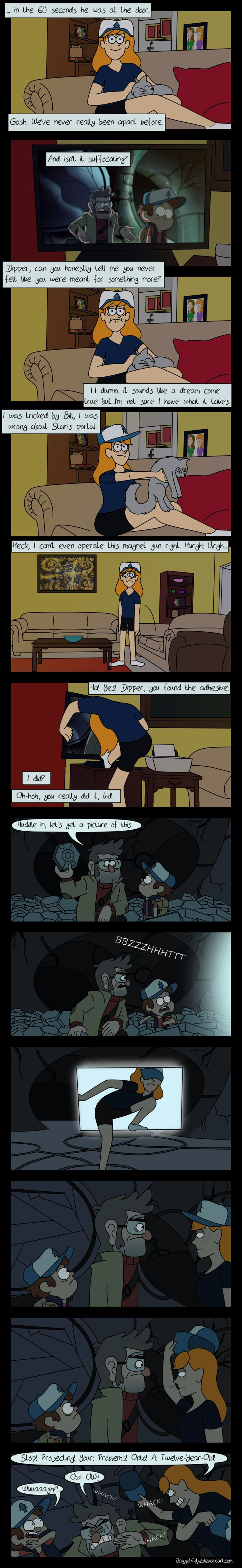 Reaction - Dipper and Mabel Vs. The Future by Jaggid-Edge.deviantart.com on @DeviantArt