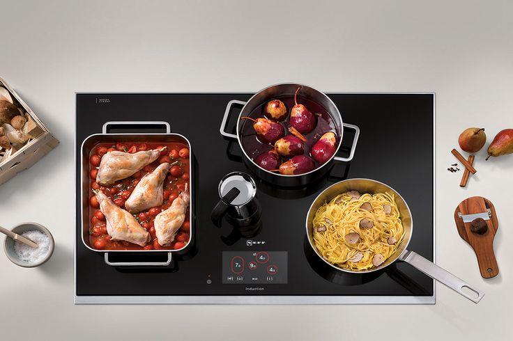Tipos de calor en las placas de cocina Neff #TecnoInnovaciónKH