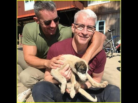 Anderson Cooper Shares Cute Moment with Partner Benjamin Maisani in Myanmar