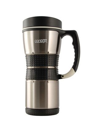Best Travel Coffee (and Tea) Mugs ( Contigo) I think I saw this at Meijer.