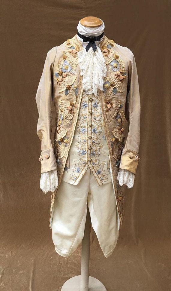 1700 Rococo costume for men in 2019