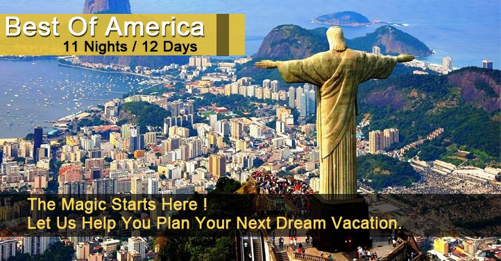 USA Tour Packages is a leading tourist guiding agency dedicated to offer Budget Holiday Tour packages for America 2015 from Delhi India at amazing discounted rate.