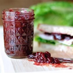 "Festive Holiday Cranberry Relish | ""This festive side dish has been in our family for generations. It goes exceptionally well with ham or turkey. A great recipe for Thanksgiving or Christmas dinner."""